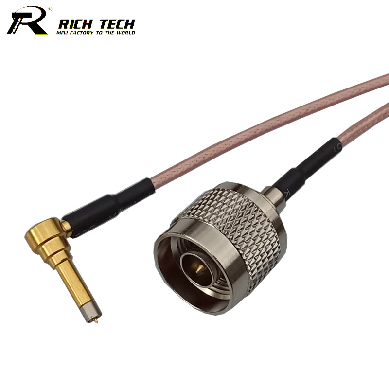 Hot N Male Plug to MS156 RF Connector Coaxial Cable Assembly RG316 Pigtail Cable RF Wire Connector Cord RF Extension Cable rp sma female to y type 2x ip 9 ms156 male splitter combiner cable pigtail rg316 one sma point 2 ms156 connector for lte yota