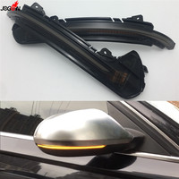 Dynamic Turn Signal LED Side Wing Rearview Mirror Indicator Blinker Repeater Light For Audi A6 C7 C7.5 RS6 S6 4G 2012 2018