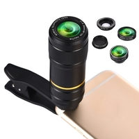 Phone Lens Telephoto 12X 20mm F1 8 15X Marco CPL 0 6X Wide Angle Mobile Phone