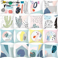 Fuwatacchi Cushion Cover Throw Pillow Covers for Home Decoration Para Sofa Pillow Cases Sofa Pillow Decorative Pillows home decorative sofa throw pillows plush solid color cushion pillow cojines decorativos para sofa pillow covers