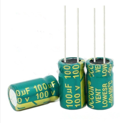 high-frequency crystal 100uf 100uf 100v <font><b>100</b></font> v <font><b>100</b></font> <font><b>uf</b></font> <font><b>100</b></font> <font><b>uf</b></font> <font><b>100</b></font> v Size:10X17MM best quality New origina image