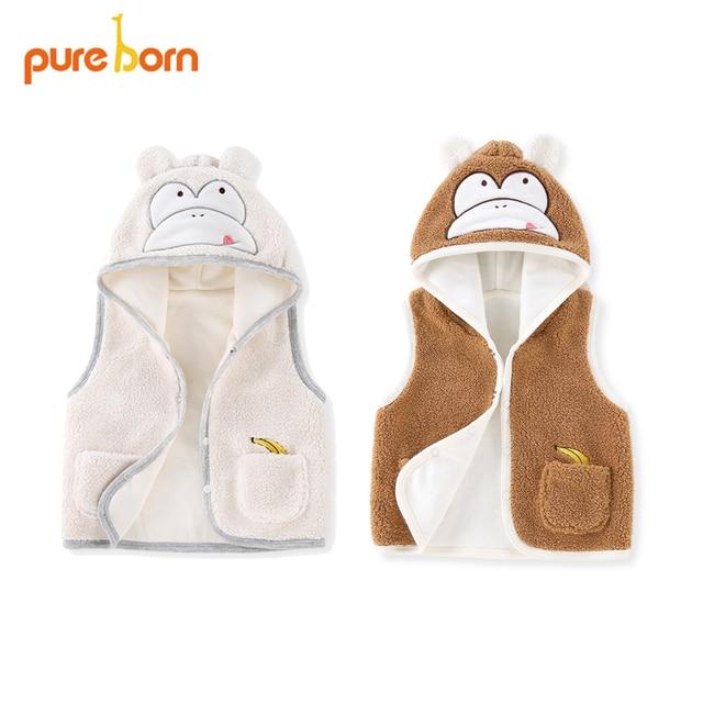 52b48179b Pureborn Baby Boy Vest New year Costume Autumn Winter Kids Polyester ...