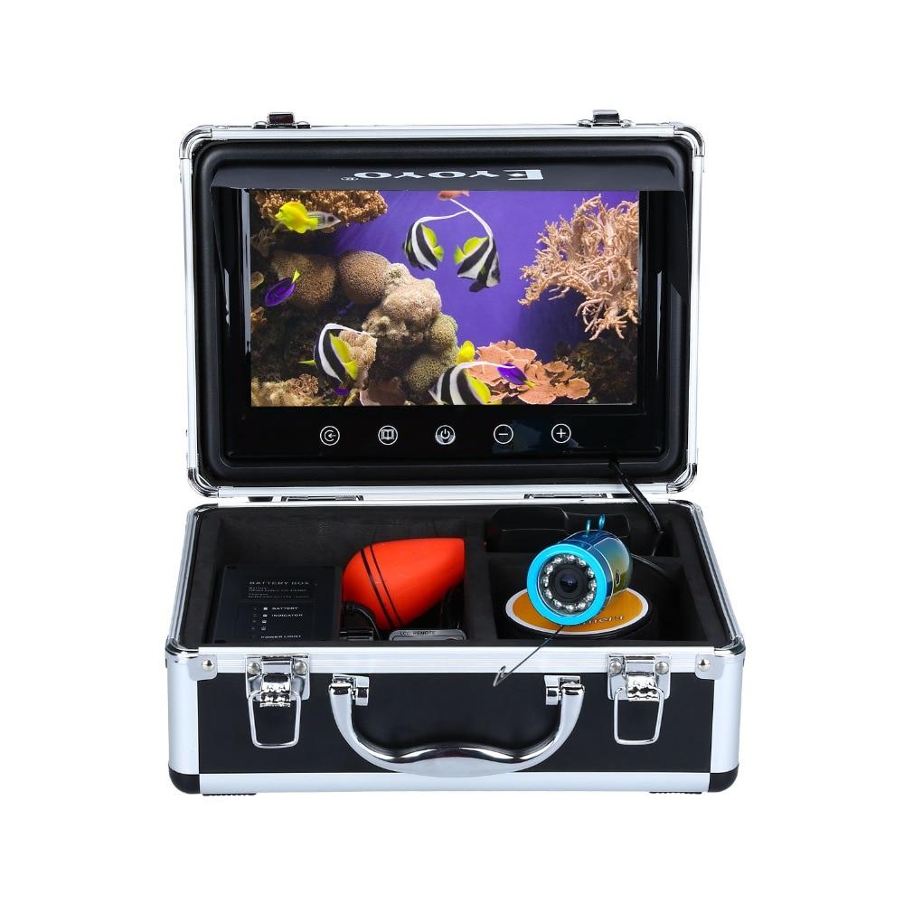Eyoyo WF09T 9  HD 1000TVL Touch Screen Infrared Underwater 30M Ice Fishing Camera Fish Finder Video 92 degree Ocean Sea Boat бутылка 0 4 л asobu ice t 2 go фиолетовая it2go violet
