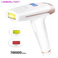 700000 fois 3in1 lescolton depilador un laser IPL épilateur épilation LCD affichage Machine Laser Permanent Bikini tondeuse