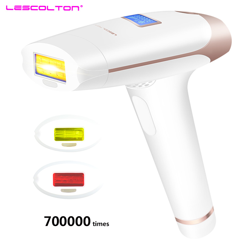 700000 mal 3in1 lescolton depilador eine laser IPL Epilierer Haar Entfernung LCD Display Maschine Laser Permanent Bikini Trimmer