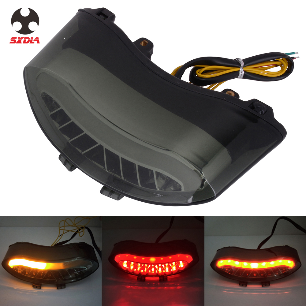 Motorcycle Accessories LED Tail light Turn Signal Rear Brake Lamp For TRIUMPH DAYTONA 675 2005-2010 SPEED TRIPLE R 2008-2010