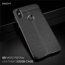 For Motorola One Case Soft Silicone Leather Anti-knock Phone Cover P30 Play Zoom BSNOVT