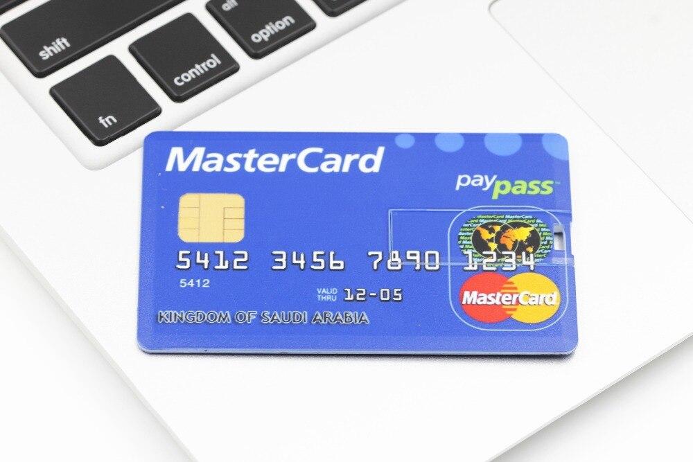 SMARE Creditcard USB Flash Drive op maat Pen drive pendrive - Externe opslag - Foto 4