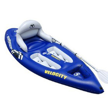 Hyperspeed aquamarina velocity single canoe aluminum alloy kayak pvc boat