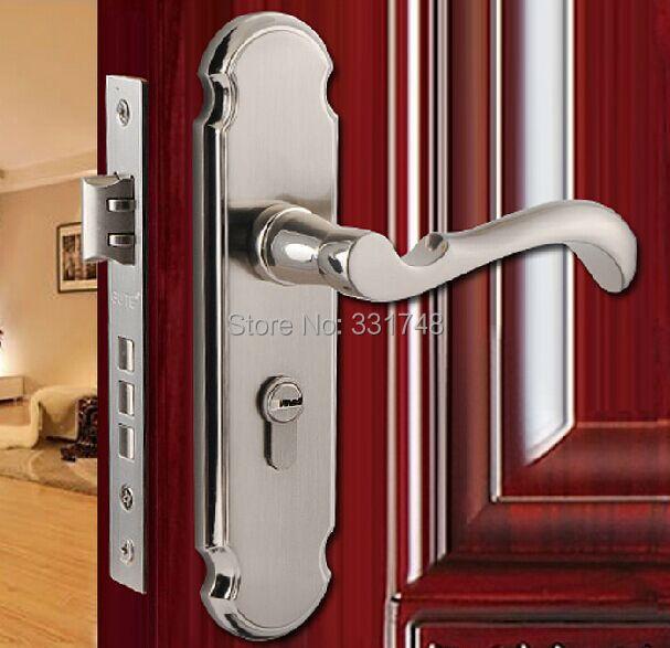 European Lever handle lock indoor door lock for bedroom
