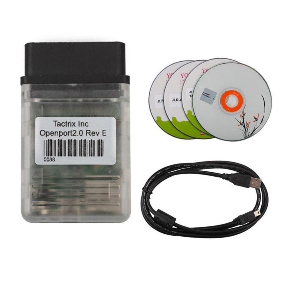 Tactrix Openport ECU FLASH 2.0 Automobile Outils De Diagnostic Excellente Diagnostiquer ECU Chip Tuning Travaux Universel Pour Voitures Véhicule