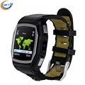 Gft GT68 бесплатная доставка! Носимых устройств Bluetooth смарт спорт телефон часы пульсометр SOS GPS для Android телефон ответ на вызов