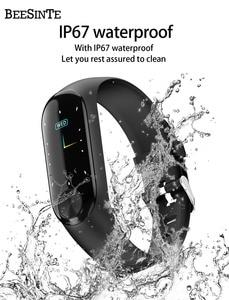 Image 5 - Smart armband wasserdichte wärme rate monitor blutdruck für Fitness Tracker unterstützung multi sport modus für Andriod smart band