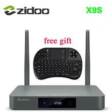 ZIDOO X9 Android 6.0 + OpenWRT (NAS) TV BOX Realtek RTD1295 2G/16G 2,4 GHz, 5,8 GHz Wifi BT4.0 1000 Mt Media Player