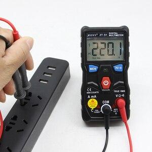Image 5 - ZOYI ZT S1 جهاز إختبار مالتيميتر رقمى autoranging صحيح rms autootriz Mmultimetro مع NCV LCD الخلفية + مصباح يدوي مثل RM403B