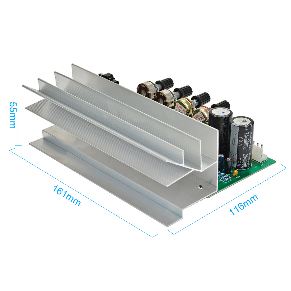 US $30 25 |Aiyima LM1875 5 1 Channel Audio Amplifier Board Subwoofer  Amplifiers DIY Sound System Speaker Home Theater 25W*6 Super TDA2030-in  Amplifier