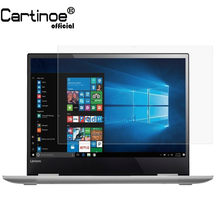 Cartinoe 13,3 Zoll Laptop Screen Protector Für Lenovo Yoga 730 13 Notebook 730-13, hd Kristall Clear Lcd Bildschirm Wache Film (2 stücke)(China)