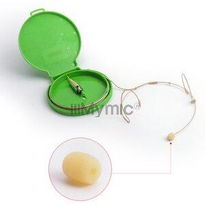 Image 5 - Iiimymic H 21S2 3 3pin Mini Xlr TA3F Connector Headset Headset Microfoon Voor Akg Samson Draadloze Body Pack Zender