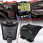 Soporte de dispositivo electrónico negro con almacenamiento integrado para modelos Can Am Maverick X3 de 2017 2018