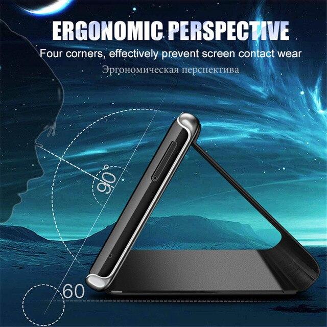 Mirror Flip Case For Samsung Galaxy A50 A51 A21s A71 A20e A12 A11 A31 A41 Note 20 S21 Ultra Cover on Samsung S20 FE S8 S10 Plus 2