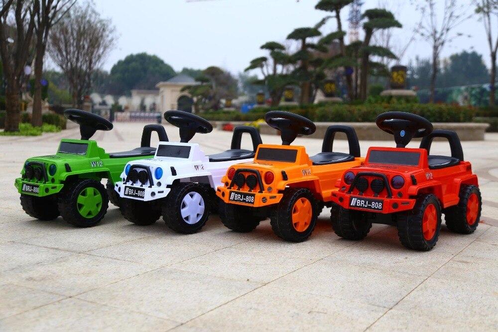Scooters à quatre roues pour enfants 1-4 ans voiture de torsion pour bébé yo-yo voiture de torsion pour enfant