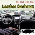 Для Subaru Forester SH 2008 2009 2010 2011 2012 кожаный Dashmat крышка приборной панели Даш коврик от солнца на заказ Стайлинг автомобиля
