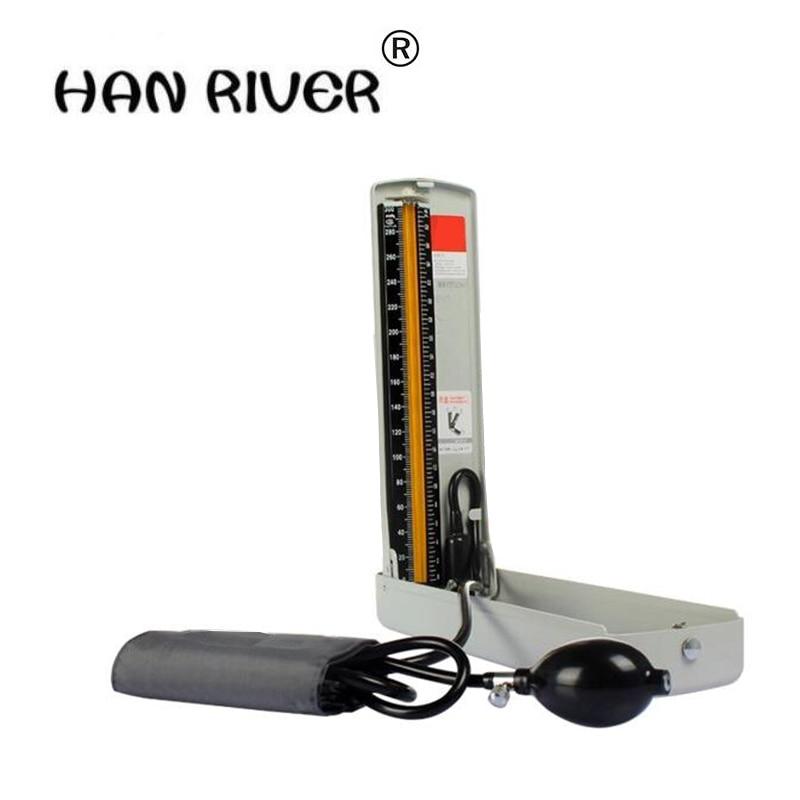 Home health detector sphygmomanometer desk-top blood pressure meter Manual measuring blood pressure Household medical upper arm концентрат health