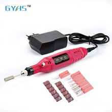Electronic Nail Care System 6 Replacement probes Manicure Pedicure Nail Buffer File Tools Nail Art polisher drill pen