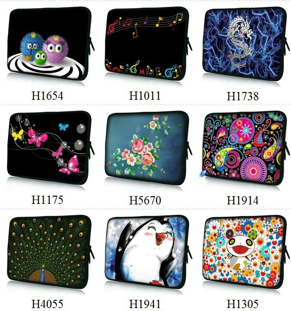 Newest Soft 10 Laptop Bag Case Cover For 10.1 Asus Transformer Pad TF300 TF300T TF700