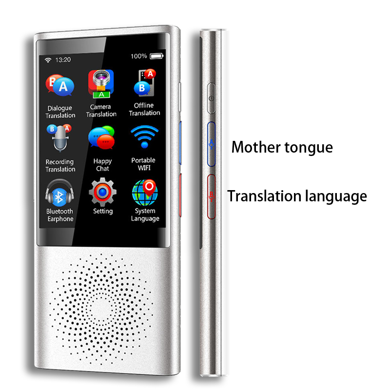 "Image 4 - Boeleo W1 AI Simultaneous Voice Translator 4G Network Multi language Portable Smart Voice Translator 2.8"" Touch Screen 8G Memory-in Translator from Consumer Electronics"
