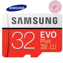 SAMSUNG Memory Card Class 10Micro SD TF Memory Card Microsd 32gb SDXC Grade EVO+ Memory Card Read/Write Speed Up to 100 MB/s