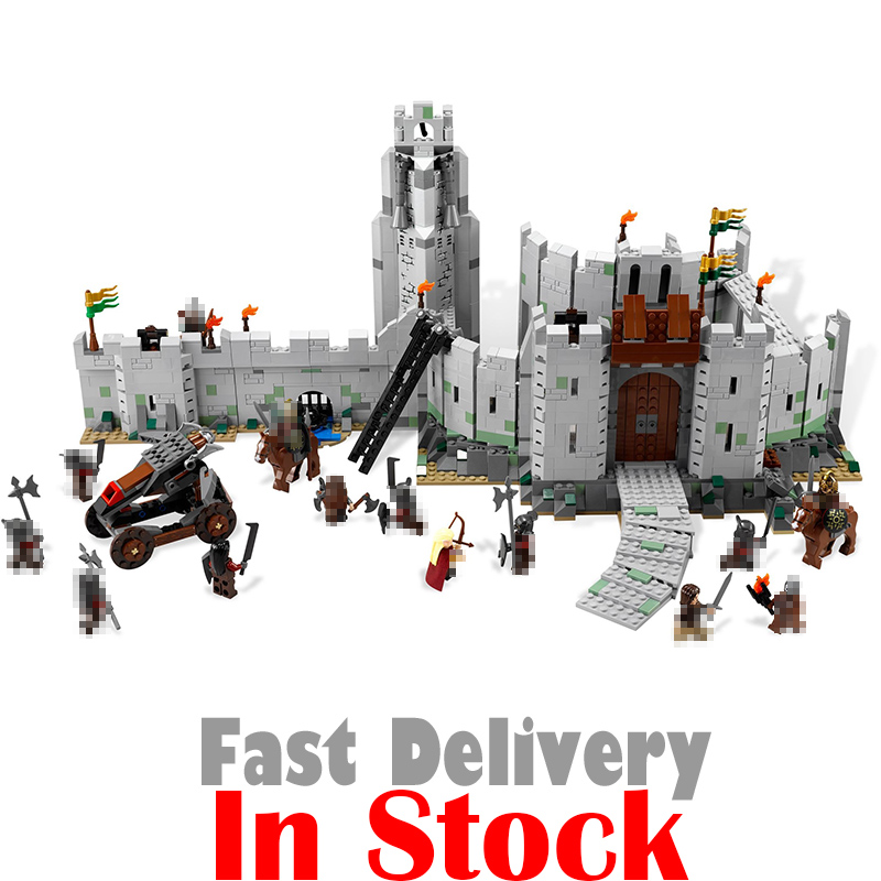 In Stock Lepin 16013 The Lord of the Rings 1368Pcs Series The Battle Of Helm' Deep Model Building Blocks Bricks Educational Toys гобелен 180х145 printio the lord of the rings lotr властелин колец
