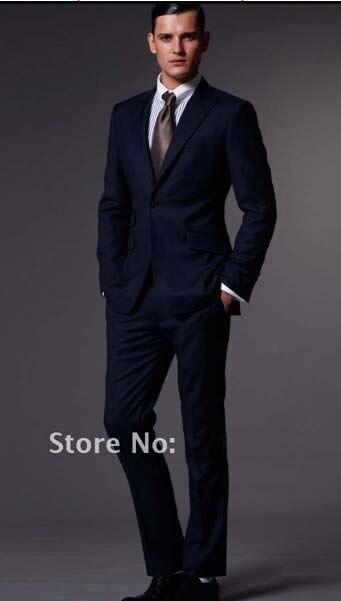 Custom Made Man Suit, Bespoke Suit Charcoal Grey Business/Wedding ...