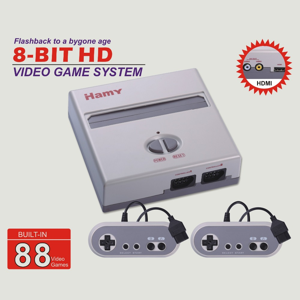 HAMY CLASSIC EDITION Video console with two for NES game