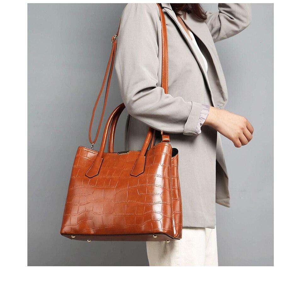 RANYUE 2018 New Fashion Stone Handbag Women High Quality Shoulder ... 18c792532bba9