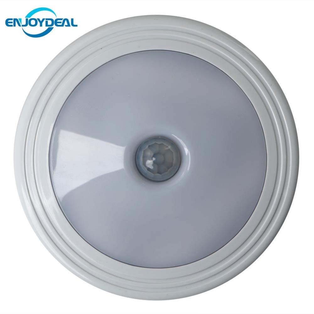 где купить  Smart Body Detector Infrared PIR Motion Sensor 5 LED Night Light With Magnet Auto On/Off For Hallway Pathway Closet Wall Lamp  по лучшей цене