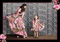 wholesale Plant flowers digital silk fabric for dresses coat shirt print satin tweed cheap-fabrics tecido stripe tulle B859