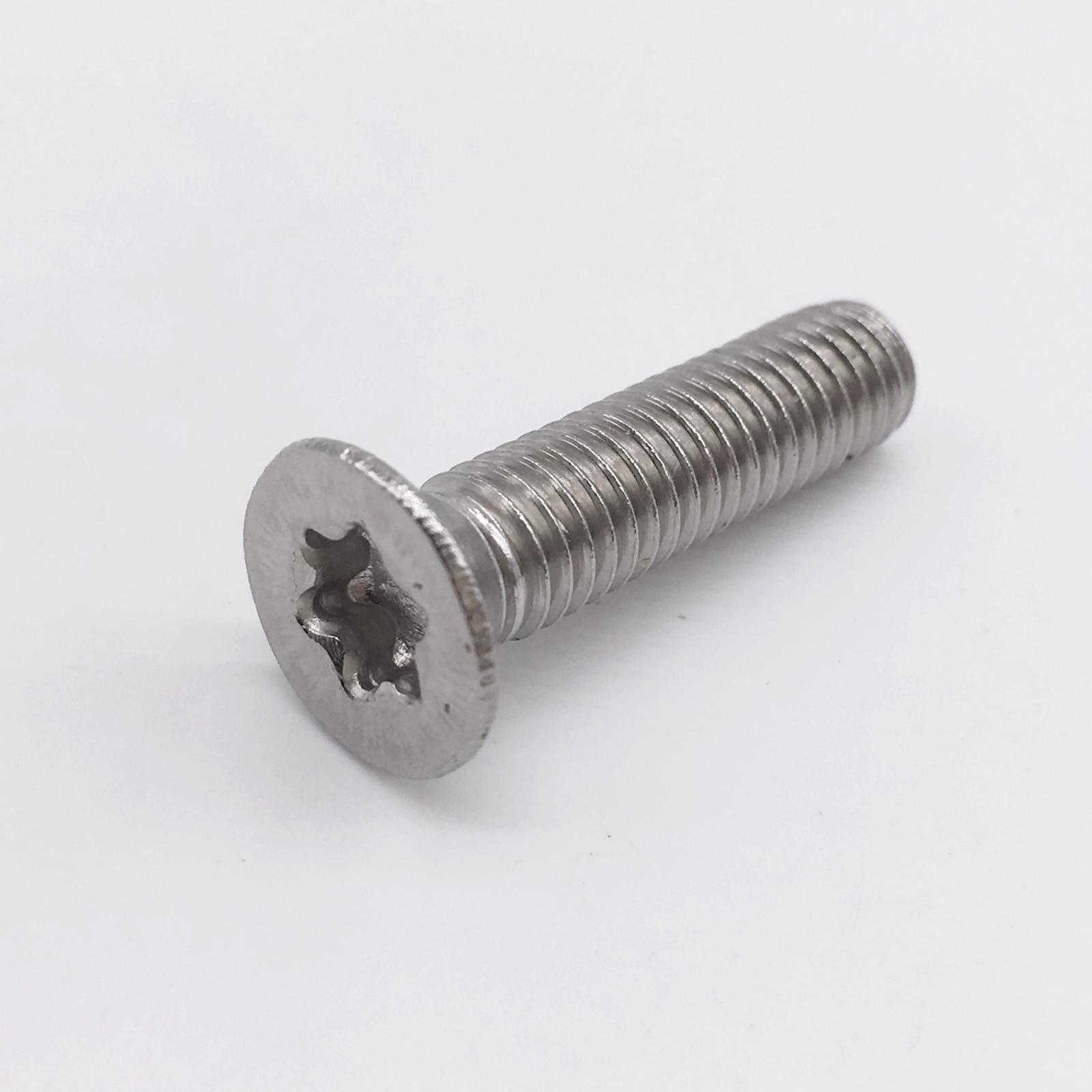 M5 Carbon Steel Flat Head Socket Screws Countersunk Bolt QTY 20