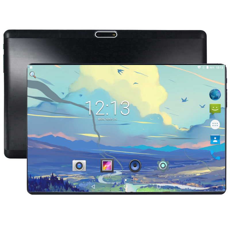2019 Free shipping Android Tablet PC Tab Pad 10 Inch IPS 8 Core 4GB RAM 64GB ROM Dual SIM Card LTD Phone Call 10.1 Phablet