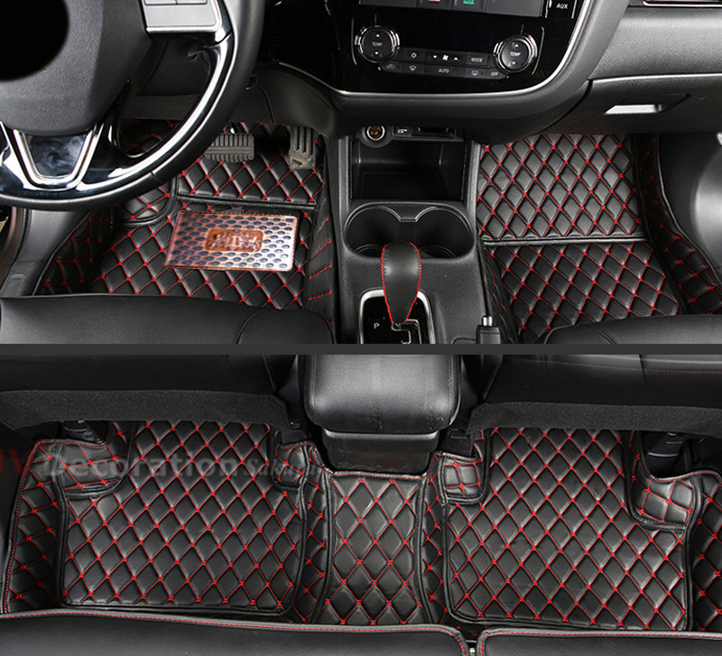 accessories 13 16 for mitsubishi asx outlander sport accessories interior leather carpets cover. Black Bedroom Furniture Sets. Home Design Ideas