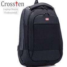 """Crossten Schweizer Tasche Multifunktionale 15 """"laptop rucksack Wasserdichte Reisetasche Vielseitig Schultasche Rucksack"""