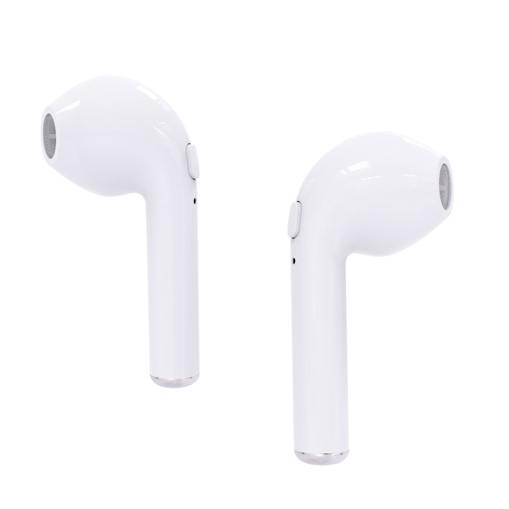 VOGROUND New i7 TWS Twins Wireless Earbuds Mini Bluetooth Earphone For iPhone Android xiaomi Sport Earphone remax 2 in1 mini bluetooth 4 0 headphones usb car charger dock wireless car headset bluetooth earphone for iphone 7 6s android