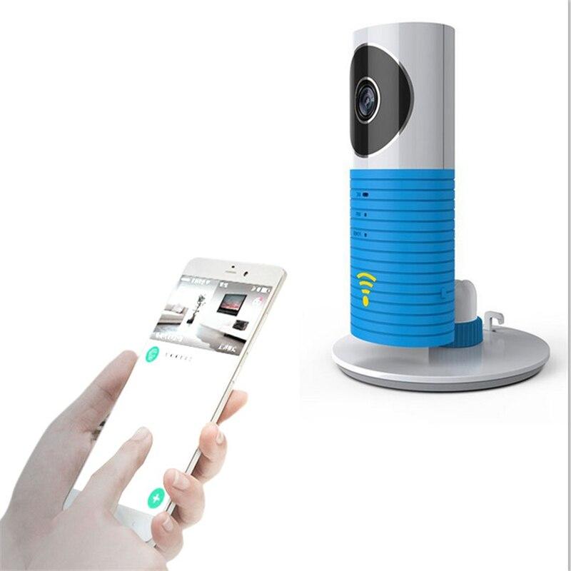все цены на Hot Selling720P HD Clever Dog Wifi Home Security IP Camera Baby Monitor Intercom Smart Phone Audio Night Vision cam de seguridad онлайн