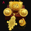 TWO DESIGH New Habesha Jewelry Sets 24K Gold Plated Women Girls Ethiopian/Eritrean/African/Arabic Jewelry Set