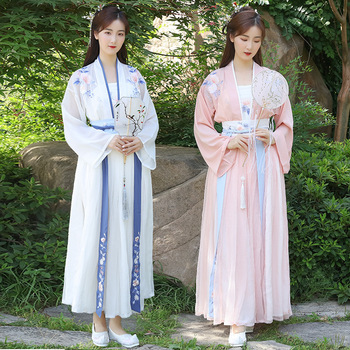 Chinese style Hanfu national style new style female student fairy spring and autumn photo stage performance clothing