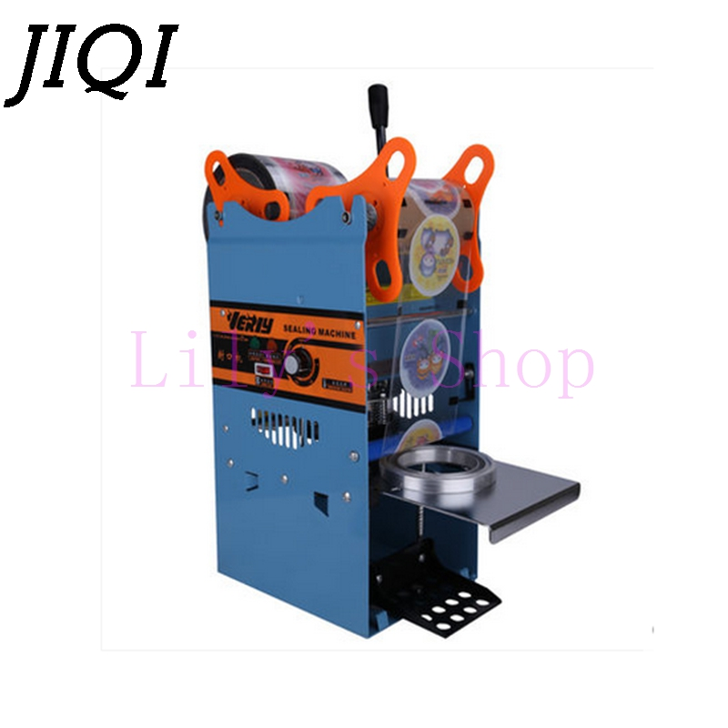 DMWD Manual Handle cups sealing machine hand electric drink sealer pressure lid sealing maker Bubble milk tea shop closure Cup edtid new high quality small commercial ice machine household ice machine tea milk shop
