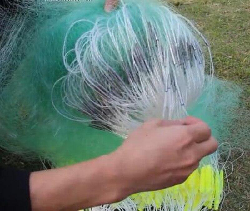 cm-7 centímetros de malha rede de pesca
