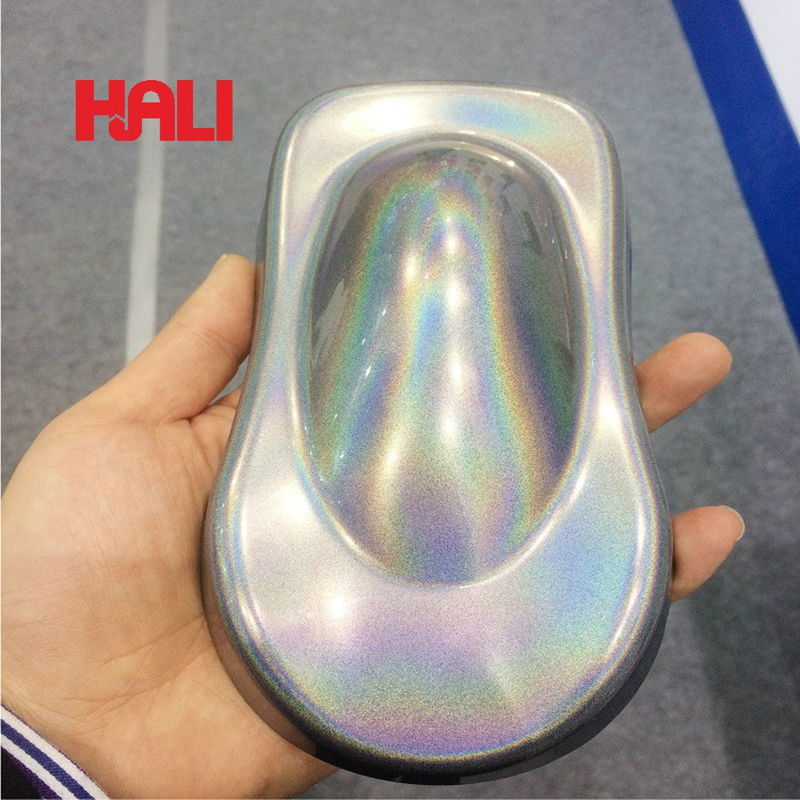 Holographic Effect Pigment,hologram Flakes,Rainbow Pigment,powder Form,chameleon Pigment For Paint,coating,nails...