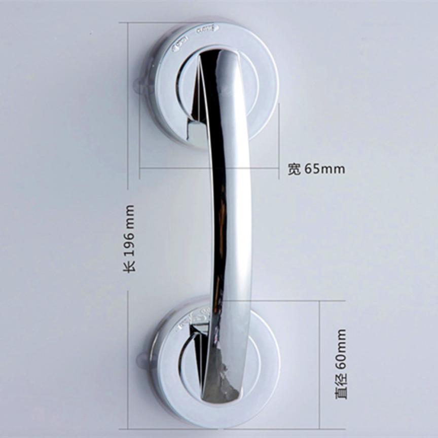 1 Pc Sucker handrail Handle Suction Cup Handrail Grab Bathroom Grip Tub Shower Bar Rail 17SEP7