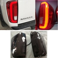 CITYCARAUTO REAR LED TAIL LIGHTS BACK LAMPS FIT FOR NISSAN NAVARA NP300 2015 2018 WITH LED PARKING REVERSE TURN SIGNAL LIGHTS